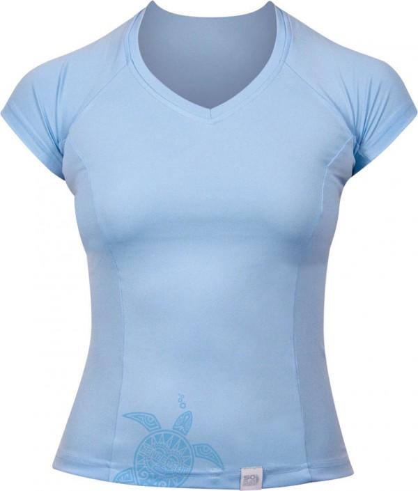 womens short sleeve watershirt