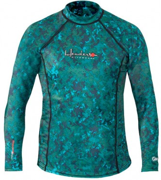 Mens Lycra Freedive Long Sleeve Tropic Top