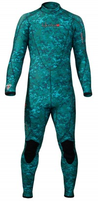 Thermoprene® Men's Free Dive Back Zip Jumpsuit
