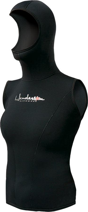 Womens thermoprene hooded vest