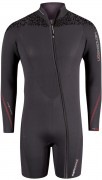 Mens Thermaxx frontzip long sleeve shorty